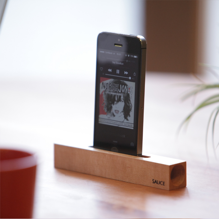 iPhone stick speaker